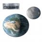Erde- und Mond-Template-Set